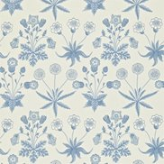 William Morris & Co Tapet Daisy Blue/Ivory