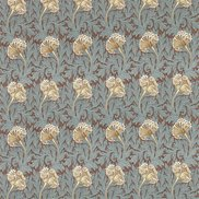 William Morris & Co Tyg Tulip Bullrush/Slate