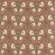 William Morris & Co Tyg Pimpernel Red/Thyme