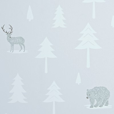Hibou Home Tapet Into The Wild Stone/Arctic White