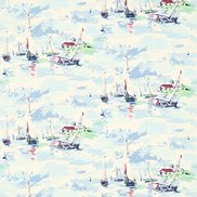 Sanderson Tyg Sail Away Sky Blue