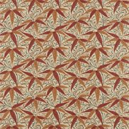 William Morris & Co Tyg Bamboo Russet/Siena