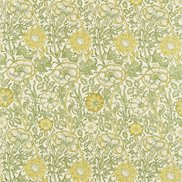 William Morris & Co Tyg Pink & Rose Cowslip/Fennel