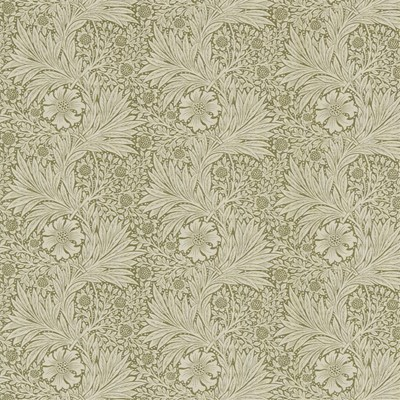 William Morris & Co Tyg Marigold Olive/Linen