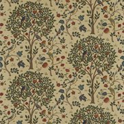 William Morris & Co Tyg Kelmscott Tree Forest/Gold