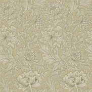 William Morris & Co Tapet Chrysanthemum Ivory/Gold