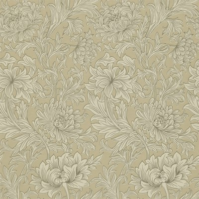 William Morris & Co Tapet Chrysanthemum Toile Ivory/Gold