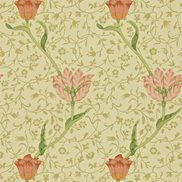 William Morris & Co Tapet Garden Tulip Vanilla/Russet