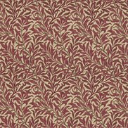 William Morris & Co Tyg Willow Boughs Crimson/Manilla