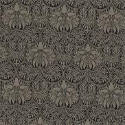 William Morris & Co Tyg Cown Imperial Black/Linen