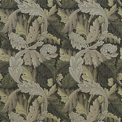William Morris & Co Tyg Acanthus Tapestry Forest/Hemp