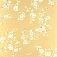 GP & J Baker Tapet Blossom Old Gold