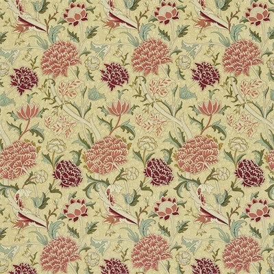 William Morris & Co Tyg Cray Biscuit/Brick