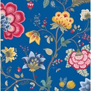 PiP Studio Tapet Floral Fantasy Dark Blue
