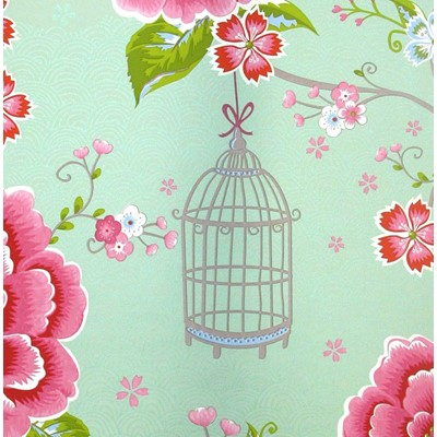 PiP Studio Tapet Birds in Paradise Green