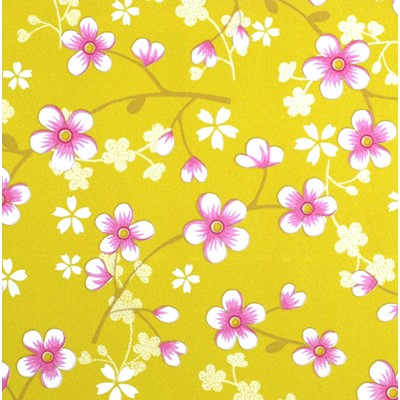 PiP Studio Tapet Cherry Blossom Yellow