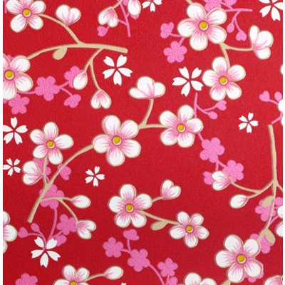 PiP Studio Tapet Cherry Blossom Red