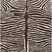 Brunschwig & Fils Tapet Le Zebre Brown