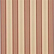 Mulberry Home Tapet Narrow Ticking Stripe Red/Sand