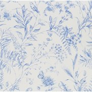 Ralph Lauren Tapet Fern Toile Bluebell